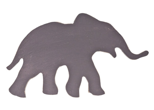 Painted Elephant Silhouette