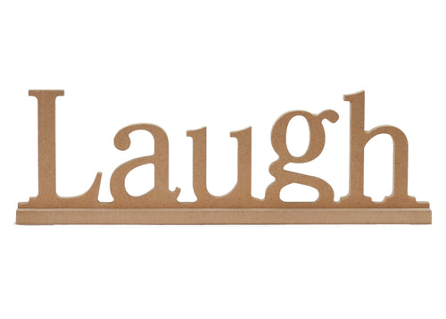 Laugh Shelf Sign