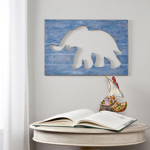 Painted Elephant Cut Out