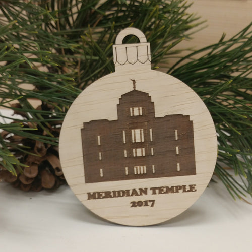 LDS Temple Ornament