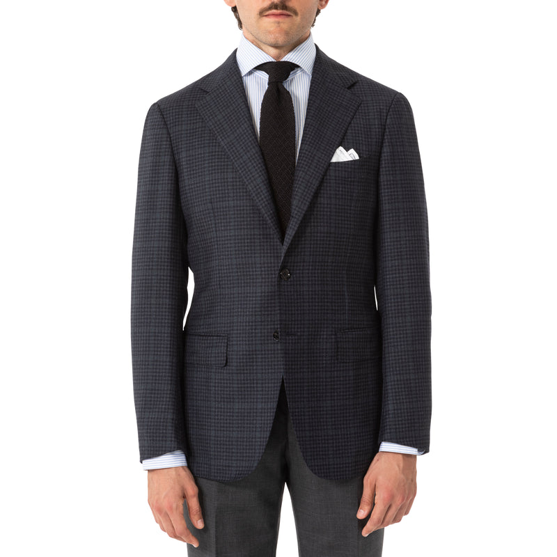 The Armoury Wool Check Model 3 Sport Coat