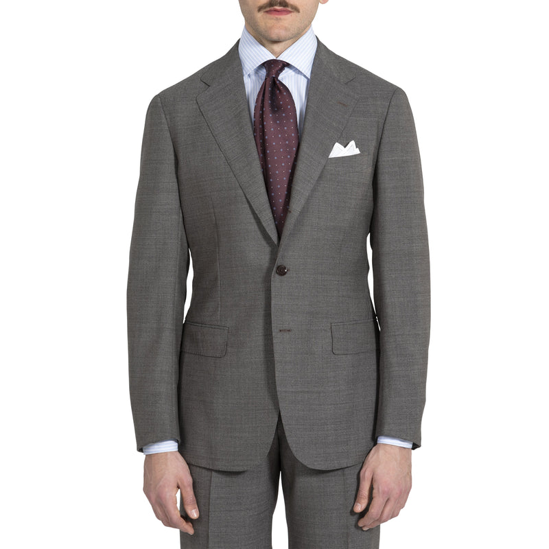 4746575fe7d8d2 The Armoury by Ring Jacket The Armoury by Ring Jacket 21 Micron Wool Model  3A Suit – Taupe USD 1,500