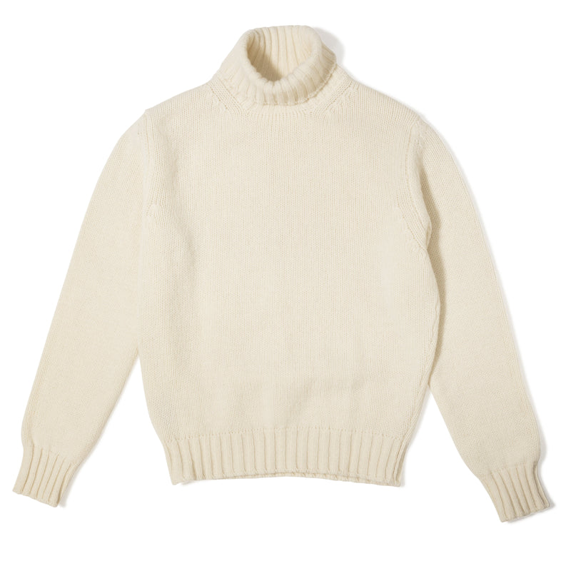 513460069 The Armoury The Armoury Lambswool Rollneck Sweater – Ecru USD 250