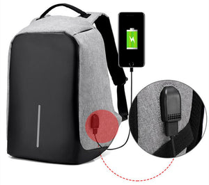 SMART ANTI-THEFT BACKPACK - WITH USB CHARGING