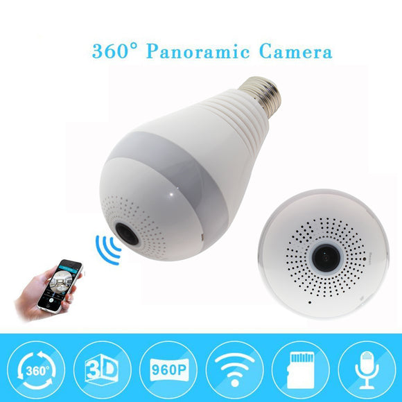 Smart Panoramic Camera - Bulb Light