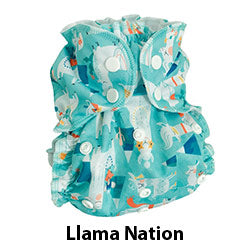 AppleCheeks One Size Cover Llama Nation