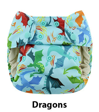 Blueberry One Size Simplex Dragons
