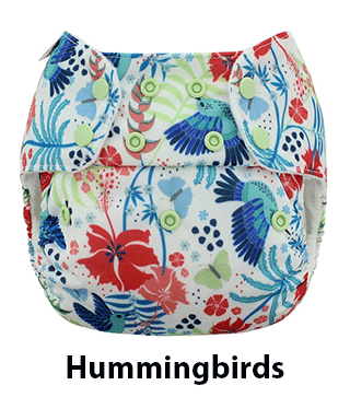 Blueberry One Size Simplex Hummingbirds