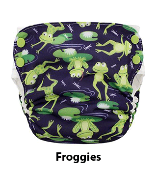 Blueberry Side Snap Simplex AIO Froggies