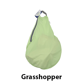 BumGenius Hangout Wet Bag Grasshopper