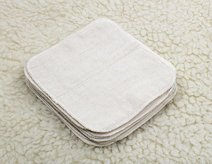 Cloth-eez Wipes Unbleached