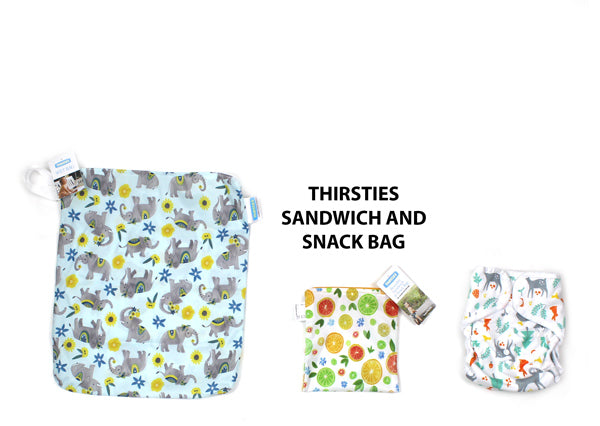 Thirsties sandwich bag size