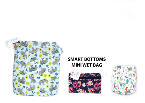 Smart Bottoms Mini wet bag size