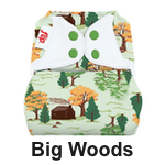 Flip Diaper Cover Big Woods