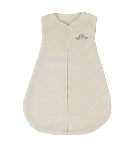 wool sleep sack with zipper