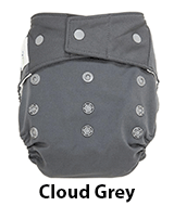 GroVia Shell Snap Cloud Grey