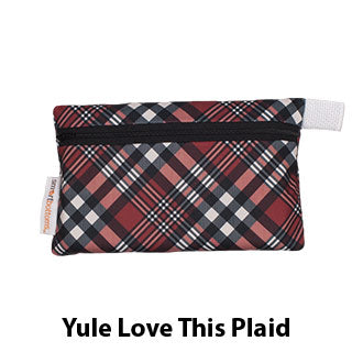 Mini Wet Bag Yule Love this Plaid