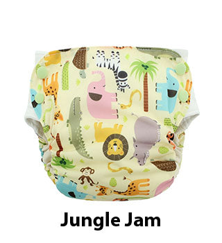 Blueberry Side Snap Simplex Jungle Jam