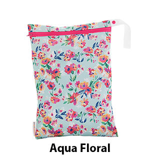 OTG Wet Bag Aqua Floral