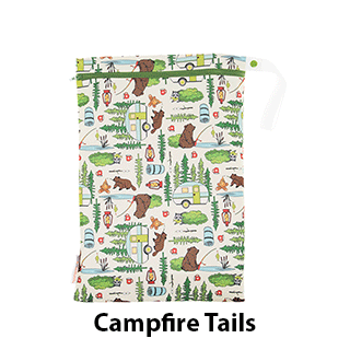 Smart Bottoms On the Go Wet Bag Campfire Tails
