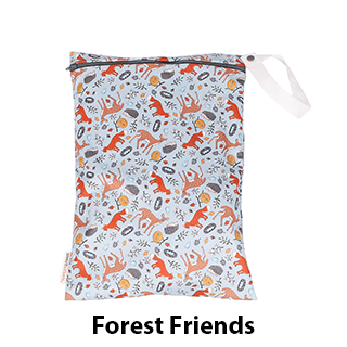 Smart Bottoms On the Go Wet Bag Forest Friends