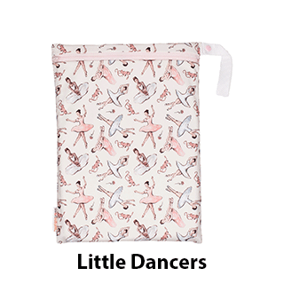 Smart Bottoms On the Go Wet Bag Little Dancers