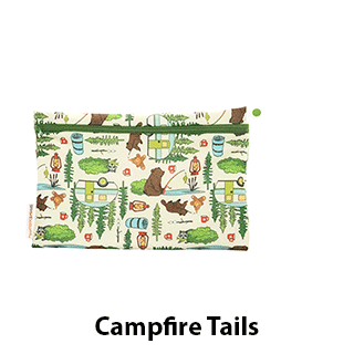 Smart Bottoms Small Wet Bag Campfire Tails