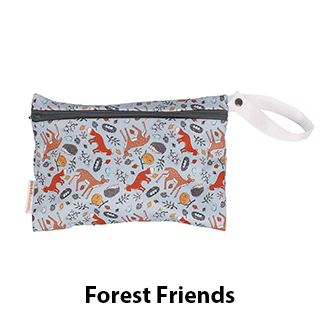 Smart Bottoms Small Wet Bag Forest Friends