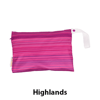 Smart Bottoms Small Wet Bag Highlands