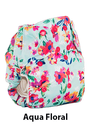 Smart Bottoms 3.1 Aqua Floral