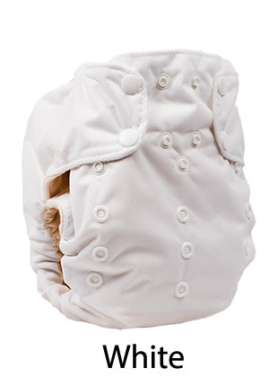 Smart one organic aio cloth diaper white