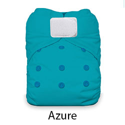 Thirsties Natural One Size AIO Azure