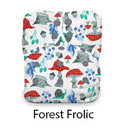 Natural AIO Snap One Size Forest Frolic