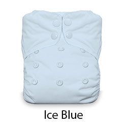 Natural AIO Snap One Size Ice Blue
