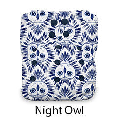 Natural AIO Snap One Size Night Owl