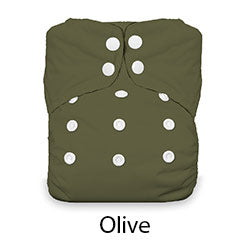 Thirsties Natural AIO Snap Olive