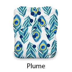 Thirsties Snap Natural One Size Plume