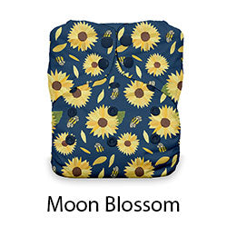 Thirsties One Size AIO Snaps Moon Blossom