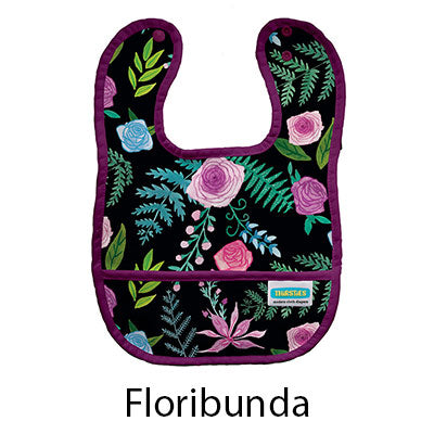 Thirsties Pocket Bib Floribunda