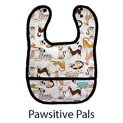 Thirsties Pocket Bib Pawsitive Pals