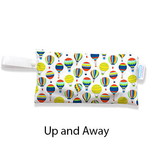 Thirsties Clutch Bag Up and Away