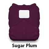 Thirsties Duo Wrap Hook and Loop Sugar Plum
