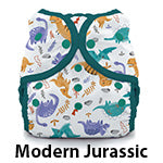 Thirsties Duo Wrap Snap Modern Jurassic