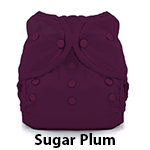 Thirsties Duo Wrap Snap Size Three Sugar Plum