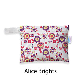 Mini Wet Bag Alice Brights
