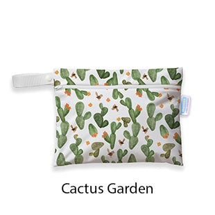 Thirsties Mini Wet Bag Cactus Garden