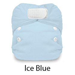 Natural Newborn AIO Hook and Loop Ice Blue