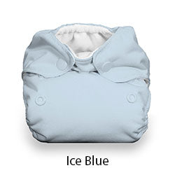 Natural Newborn Snap Ice Blue