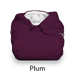 Thirsties Snap Natural Newborn AIO Plum