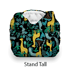 Thirsties Snap Natural Newborn Stand Tall